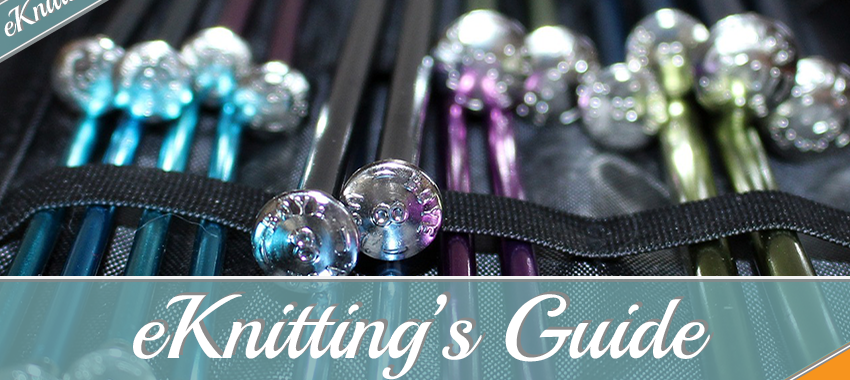 eKnitting Stitches guide to Knitting Needles