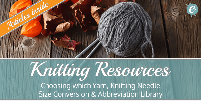 Knitting Resources Title