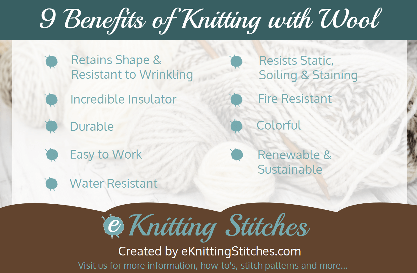 9 Benefits of Knitting with Wool