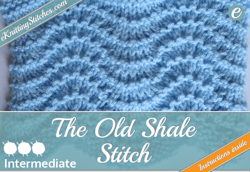 Old Shale stitch example & Title Slide for
