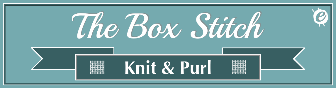 The Box Stitch Banner Title
