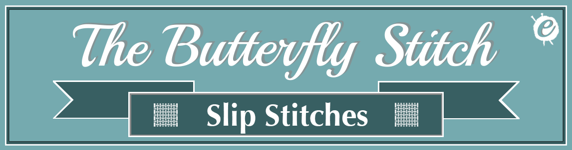 Butterfly Stitch Banner