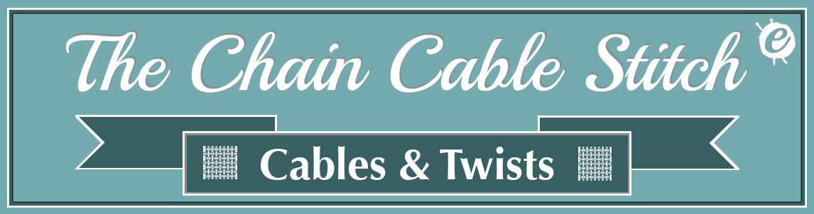 The Chain Cable Stitch Banner Title