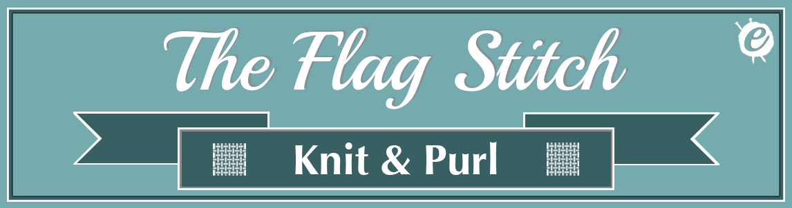 The Flag Stitch Banner Title