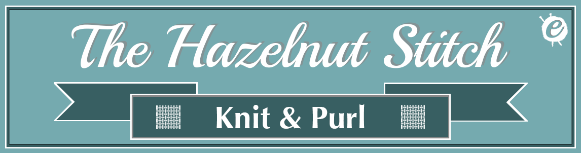 The Hazelnut Stitch Banner Title