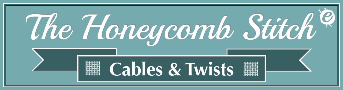 The Honeycomb Cable Stitch Banner Title