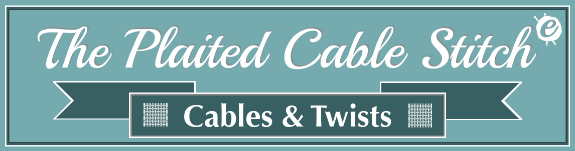 The Plaited Cable Stitch Banner Title