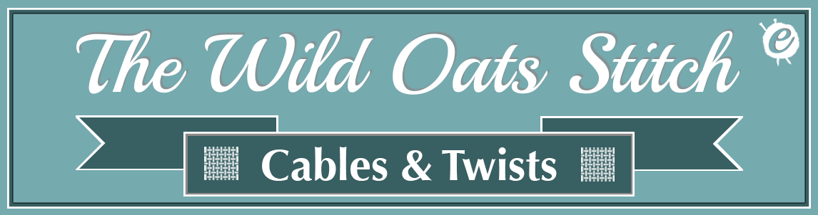 The Wild Oats Stitch Banner Title