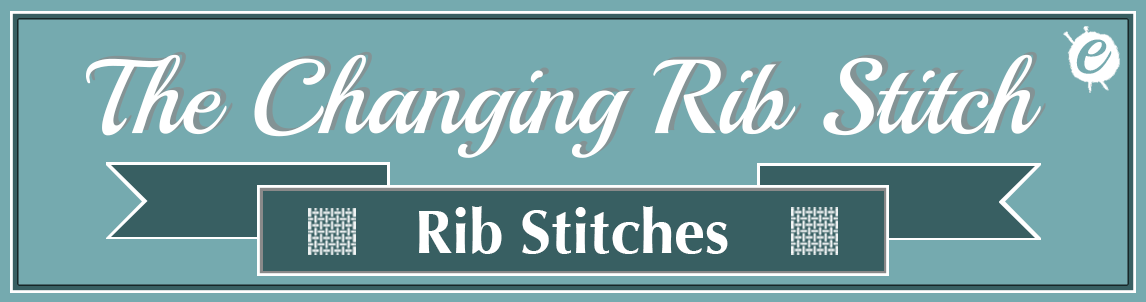 The Changing Rib Stitch Banner Title