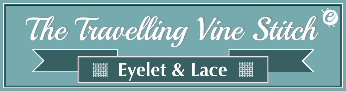 The Travelling Vine Stitch Banner Title