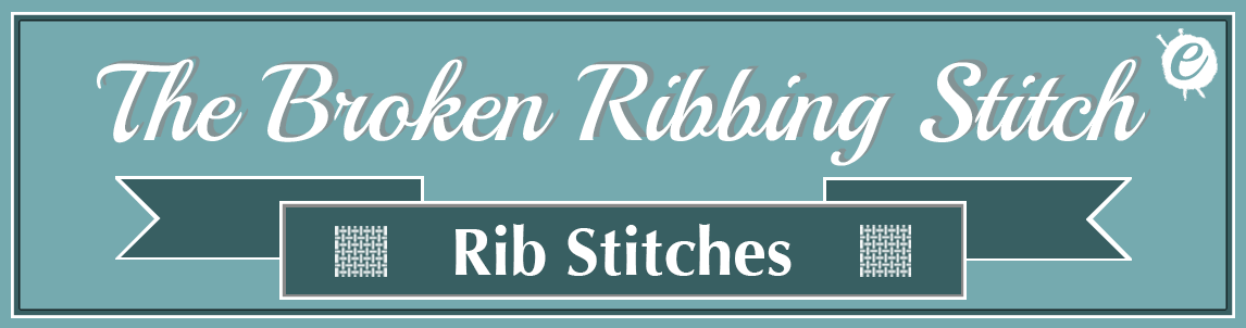 The Broken Ribbing Stitch Banner Title
