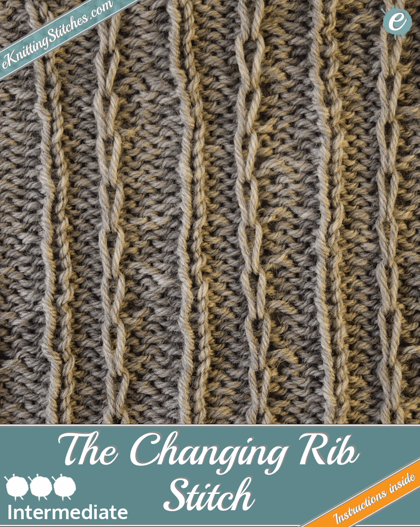 Changing Rib Stitch example & Title Slide for