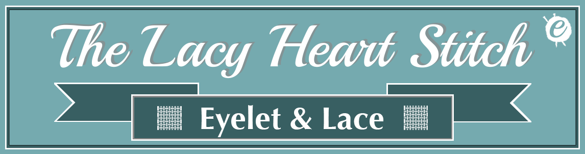 The Lacy Heart Stitch Banner Title