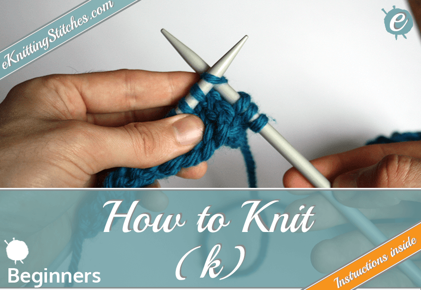 How to knit Title Slide