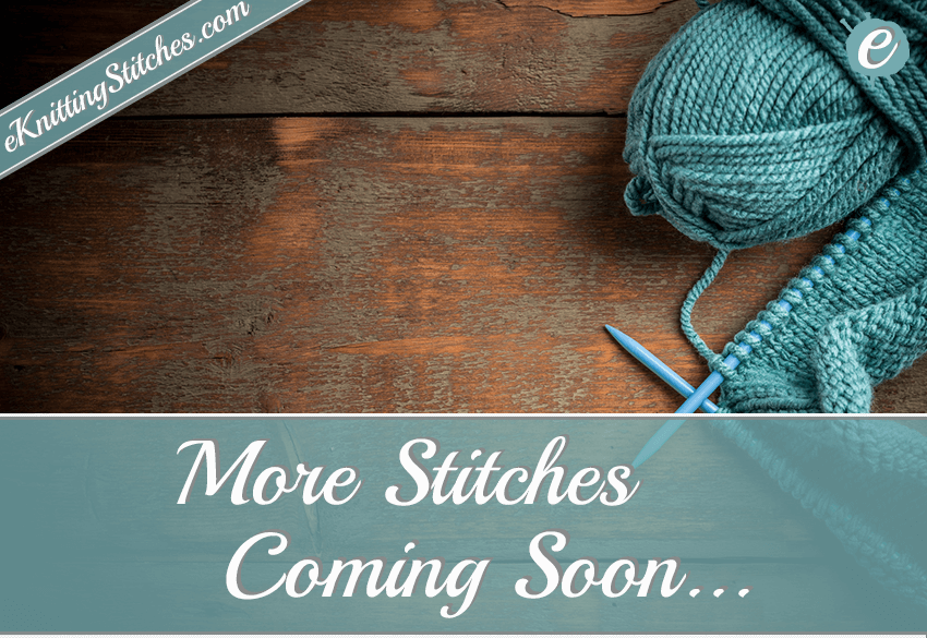 More Stitches Coming Soon.