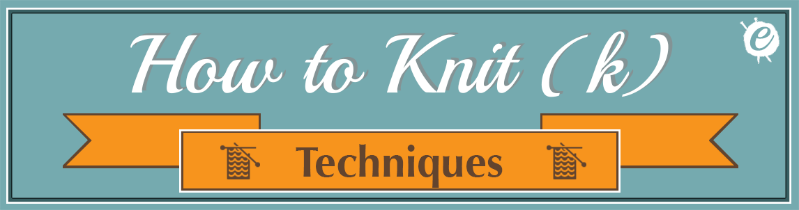 How to Knit title Banner