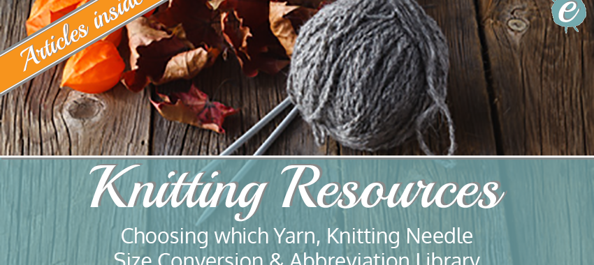 Knitting Resources Banner