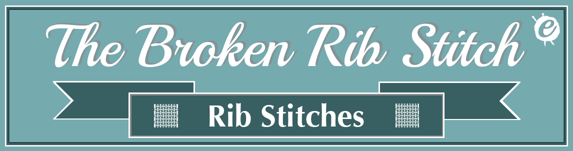 Broken Rib Stitch Banner Title