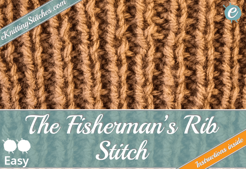 Fisherman's Stitch example & Title Slide for