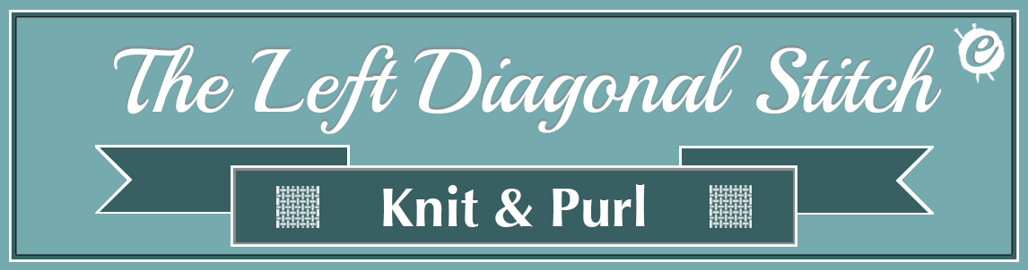 Left Diagonal Stitch Banner
