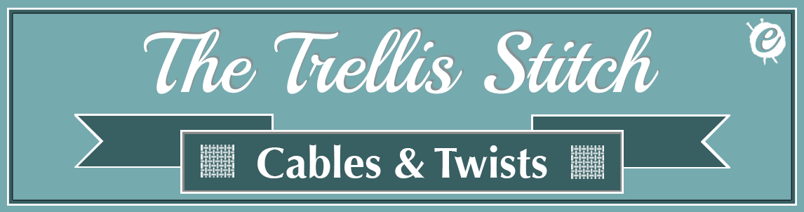 The Trellis Stitch Banner Title