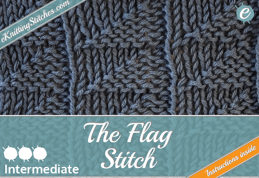 Flag Stitch example & Flag Slide for