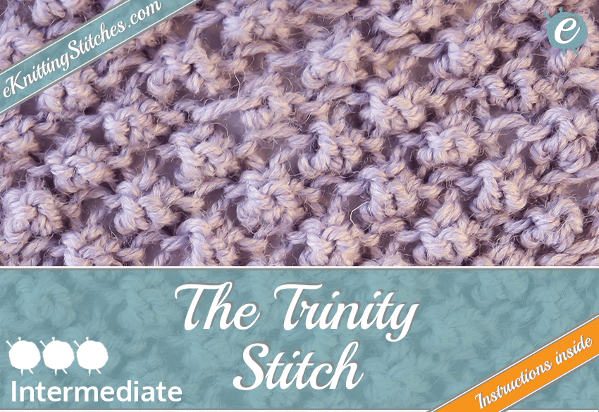 Trinity Stitch example & Title Slide for