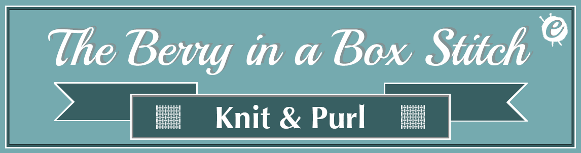 The Berry in a Box Stitch Banner Title