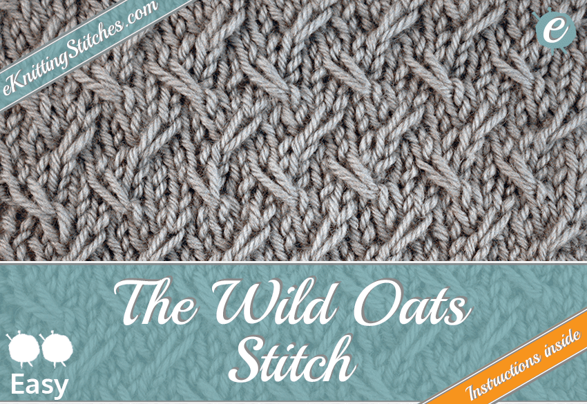 Wild Oats stitch example & Title Slide for