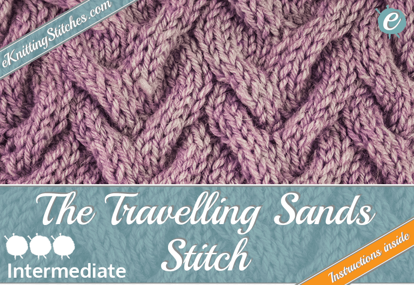 Travelling Sands stitch example & Title Slide for