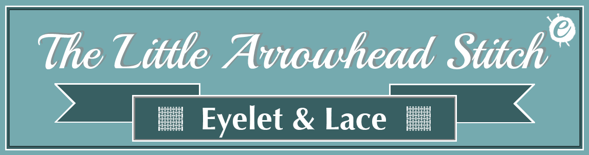 The Little Arrowhead Stitch Banner Title