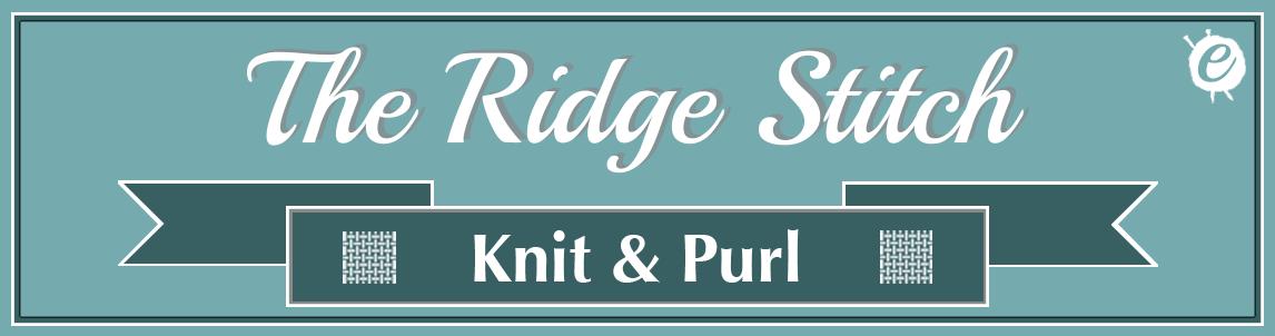 The Ridge Stitch Banner Title