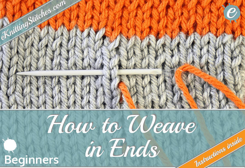 How to Weave in Ends title cta